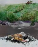 Сон ему снился опять, да все тот же: волнистые холмы, поросшие долгой травой, а на ближнем холме дом бревенчатый.